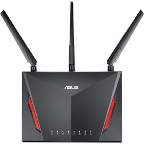 Asus AirMesh RT AC86U IEEE 802.11ac Ethernet Wireless Router Front/500