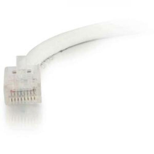 C2G 1ft Cat5e Non Booted Unshielded (UTP) Network Patch Cable   White Front/500