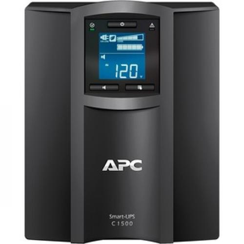 APC By Schneider Electric Smart UPS SMC1500C 1500VA Desktop UPS Front/500