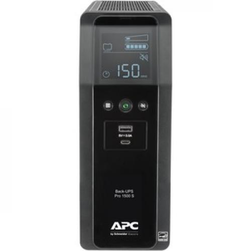 APC By Schneider Electric Back UPS Pro BR1500MS 1.5KVA Tower UPS Front/500
