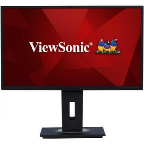 "Viewsonic VG2448 24"" Full HD WLED LCD Monitor   16:9   Black Front/500"