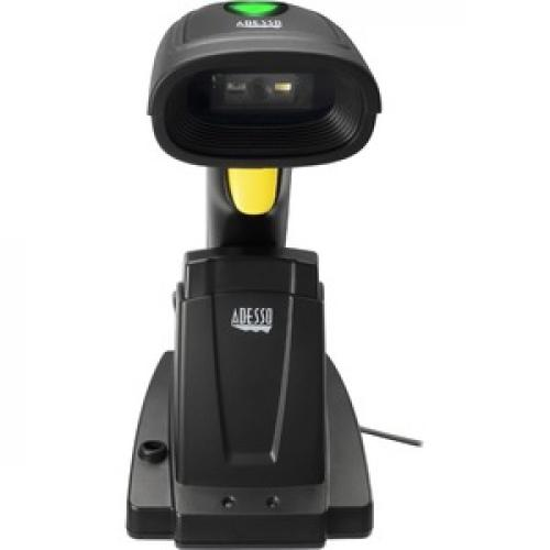Adesso NuScan 7400TR Handheld Barcode Scanner Front/500