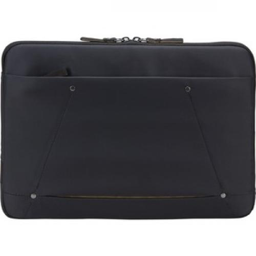 "Case Logic Deco 3203689 Carrying Case (Sleeve) For 13.3"" Notebook   Black Front/500"