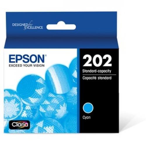 Epson DURABrite Ultra Original Ink Cartridge   Cyan Front/500