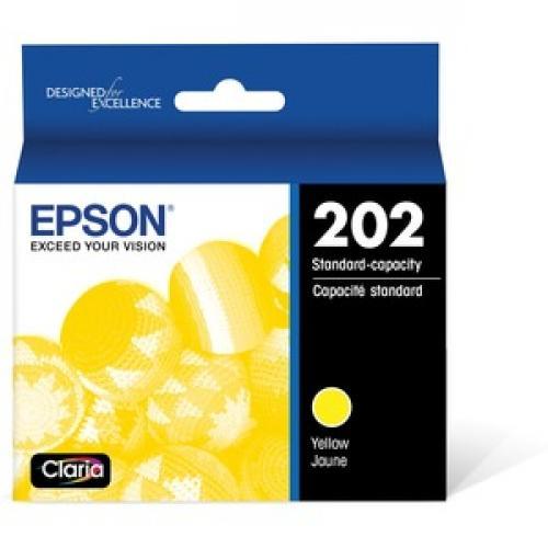 Epson DURABrite Ultra Original Ink Cartridge   Yellow Front/500