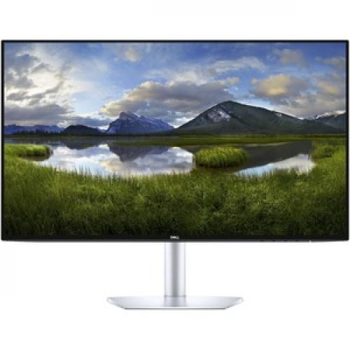 """Dell Ultra Thin 23.8"""" Monitor Black & Silver     1920 X 1080 Full HD Display   5ms Response Time   In Plane Switching Technology   Flicker Free Screen W/ Comfort View   Corning Iris Glass Light  Guide Plate Front/500"""