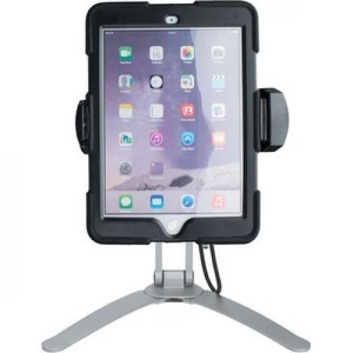 CTA Digital Multi Flex Tablet Stand + Mount???Black 360Deg Rotating Holder Front/500