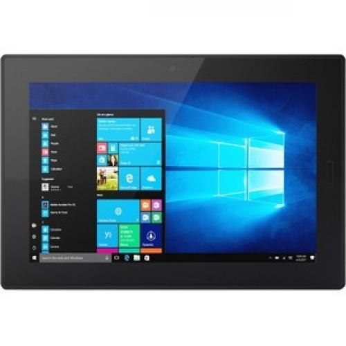 "Lenovo Tablet 10 20L3000HUS Tablet   10.1""   4 GB RAM   128 GB Storage   Windows 10 Pro 64 Bit   Black Front/500"