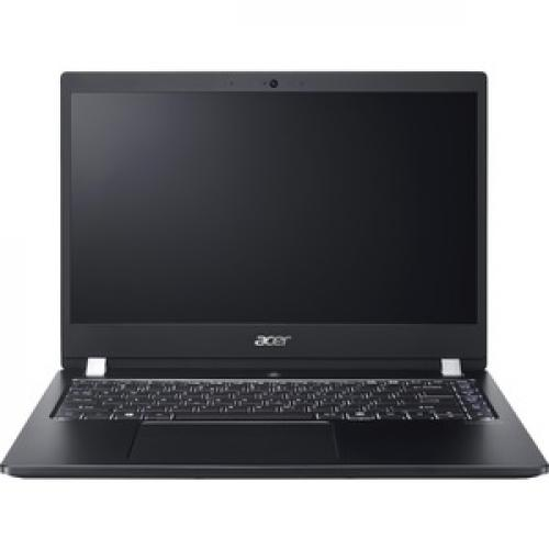 "Acer TravelMate X3410 M TMX3410 M 5608 14"" Notebook   Full HD   1920 X 1080   Intel Core I5 (8th Gen) I5 8250U Quad Core (4 Core) 1.60 GHz   8 GB RAM   256 GB SSD Front/500"