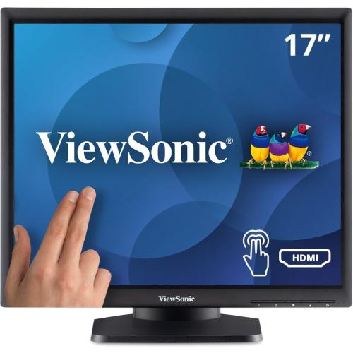 """Viewsonic TD1711 17"""" LCD Touchscreen Monitor   5:4   5 Ms GTG Front/500"""