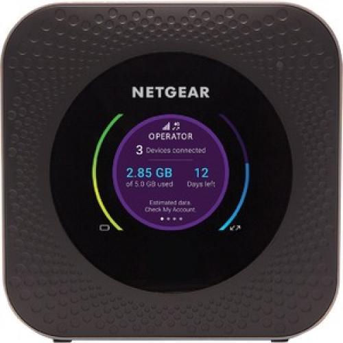 Netgear Nighthawk M1 MR1100 IEEE 802.11ac 1 SIM Cellular Modem/Wireless Router Front/500
