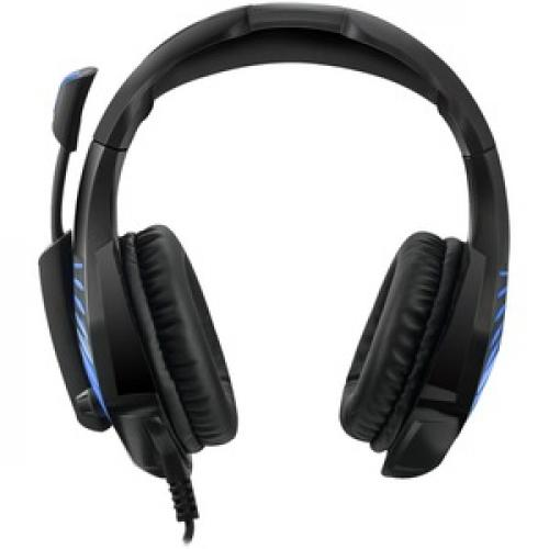 Adesso Virtual 7.1 Surround Sound Gaming Headset With Vibration Front/500