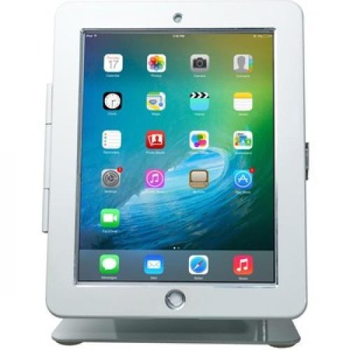 CTA Digital Desk Mount For IPad, IPad Air, IPad Pro   White Front/500