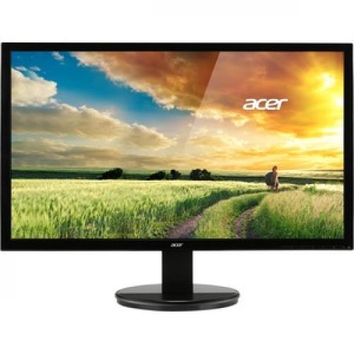 """Acer K242HL 24"""" Full HD LED LCD Monitor   16:9   Black Front/500"""