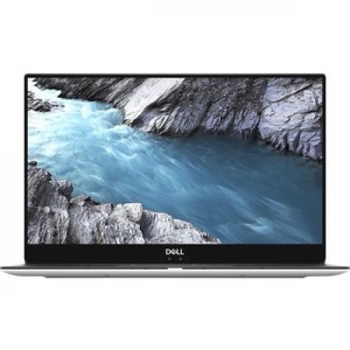 """Dell XPS 13 9380 13.3"""" Touchscreen Notebook   Intel Core I7 (8th Gen) I7 8565U Quad Core (4 Core)   8 GB RAM   256 GB SSD   Platinum Silver, Carbon Fiber Black Front/500"""