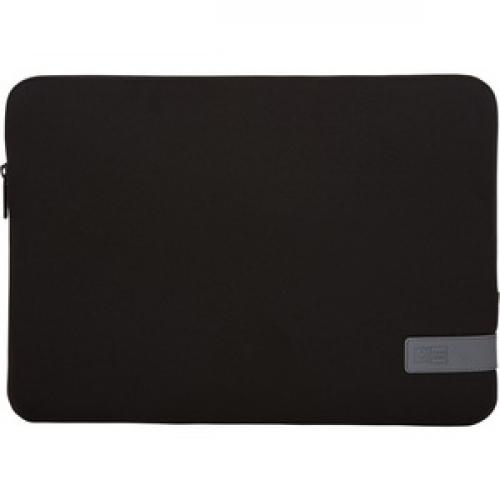"""Case Logic Reflect REFPC 114 BLACK Carrying Case (Sleeve) For 14.1"""" Notebook   Black Front/500"""
