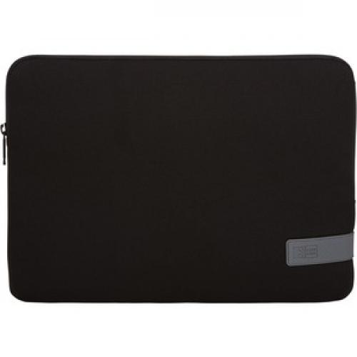 "Case Logic Reflect REFPC 113 BLACK Carrying Case (Sleeve) For 13.3"" Notebook   Black Front/500"