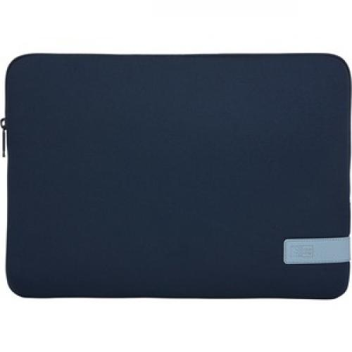 "Case Logic Reflect REFPC 114 DARK BLUE Carrying Case (Sleeve) For 14.1"" Notebook   Dark Blue Front/500"