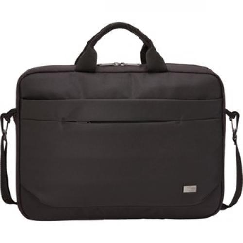 """Case Logic Advantage ADVA 116 BLACK Carrying Case (Attaché) For 10"""" To 16"""" Notebook   Black Front/500"""