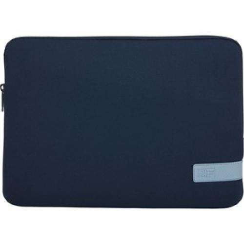 "Case Logic Reflect REFPC 113 DARK BLUE Carrying Case (Sleeve) For 13.3"" Notebook   Dark Blue Front/500"