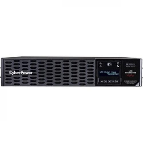 CyberPower Smart App Sinewave 2200VA Tower/Rack Convertible UPS Front/500