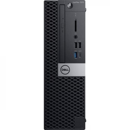 Dell OptiPlex 7000 7070 Desktop Computer   Intel Core I5 9th Gen I5 9500 3 GHz   8 GB RAM DDR4 SDRAM   256 GB SSD   Small Form Factor Front/500