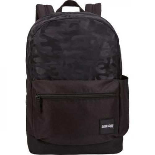 Case Logic Founder CCAM 2126 BLACKCAMO Carrying Case (Backpack) Accessories, Bottle, Electronic Equipment, Pen, Book, Folder   Black Camo Front/500