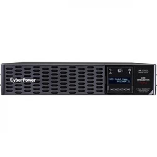 CyberPower Smart App Sinewave PR1500RT2UN 1.5KVA Tower/Rack Convertible UPS Front/500