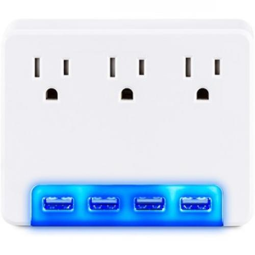 CyberPower Surge Protectors P3WUH Professional    Volts: 125 V Front/500