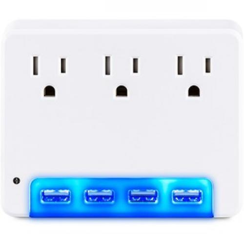 CyberPower Surge Protectors P3WUN Professional   Volts: 125 V Front/500