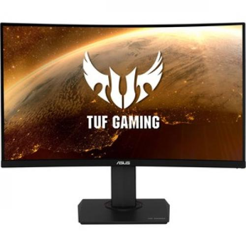 """TUF Gaming VG32VQ 31.5"""" WQHD Curved Screen LED Gaming LCD Monitor   16:9 Front/500"""