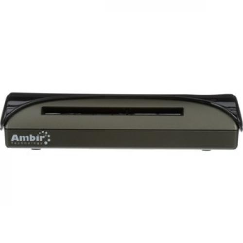Ambir ImageScan Pro PS667 Card Scanner Front/500