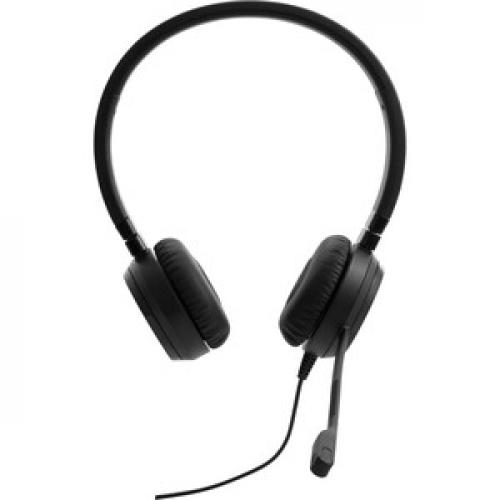 Lenovo Pro Wired Stereo VOIP Headset Front/500