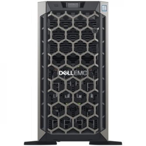Dell EMC PowerEdge T440 5U Tower Server   2 X Intel Xeon Silver 4208 2.10 GHz   32 GB RAM   1 TB (1 X 1 TB) HDD   12Gb/s SAS, Serial ATA/600 Controller Front/500