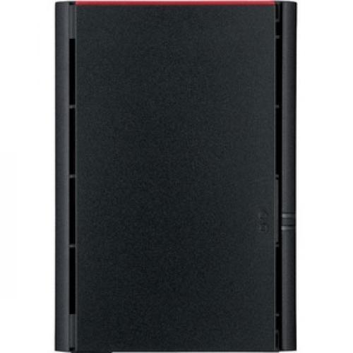 Buffalo LinkStation SoHo 2Bay Desktop 8TB Hard Drives Included Front/500