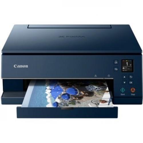 Canon PIXMA TS TS6320 Navy Inkjet Multifunction Printer   Color Front/500