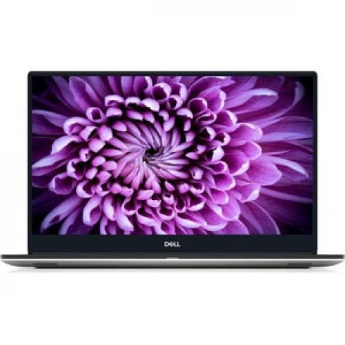 "Dell XPS 15 7590 15.6"" Touchscreen Notebook   3840 X 2160   Intel Core I7 (9th Gen) I7 9750H Hexa Core (6 Core)   32 GB RAM   1 TB SSD   Silver Front/500"