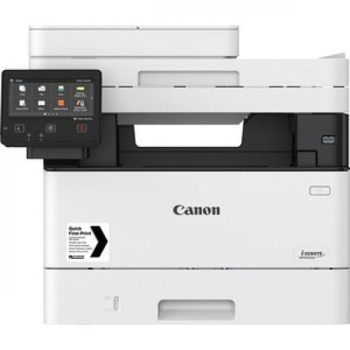 Canon ImageCLASS MF445dw Wireless Laser Multifunction Printer   Monochrome Front/500