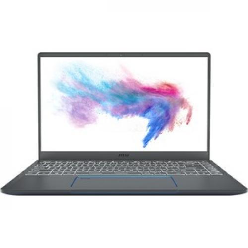 "MSI Prestige 14 A10SC 051 14"" Laptop I7 16GB RAM 512GB SSD GTX 1650 Max Q 4GB   10th Gen I7 10710U Hexa Core   NVIDIA GeForce GTX 1650 Max Q 4GB   10 Hr Battery Life   In Plane Switching (IPS) Technology   Windows 10 Pro Front/500"