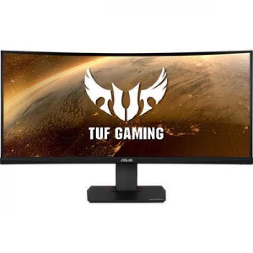 "TUF VG35VQ 35"" WQHD Curved Screen LED Gaming LCD Monitor   21:9   Black Front/500"