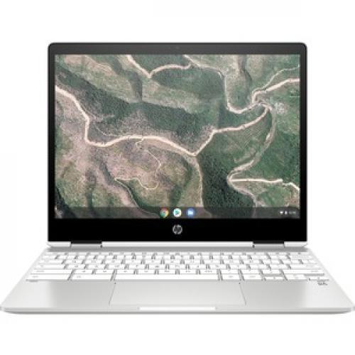 "HP Chromebook X360 12"" Touchscreen 2 In 1 Chromebook Intel Celeron N4020 4GB RAM 32GB EMMC Front/500"