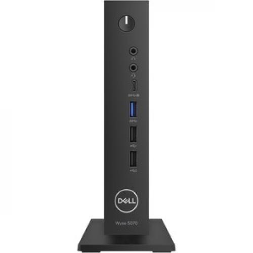 Wyse 5000 5070 Thin Client   Intel Celeron J4105 Quad Core (4 Core) 1.50 GHz Front/500
