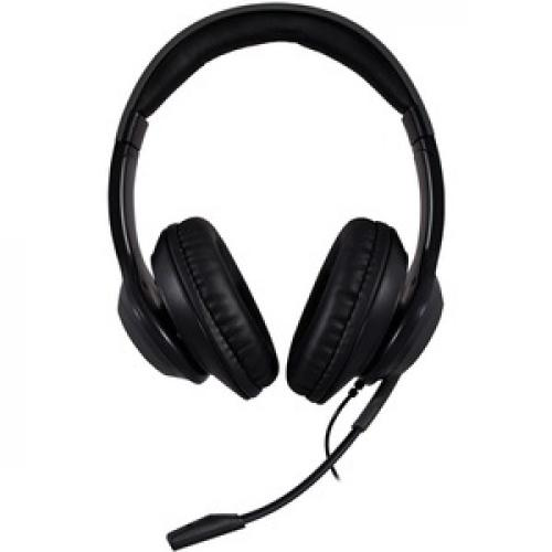 V7 Premium Over Ear Stereo Headset With Boom Mic Front/500