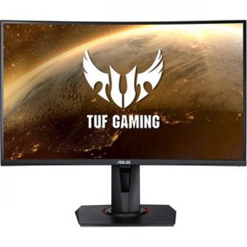 """TUF VG27VQ 27"""" Full HD Curved Screen LED Gaming LCD Monitor   16:9   Black Front/500"""