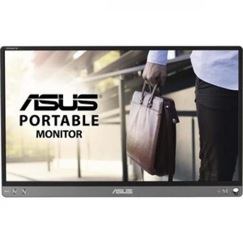 "Asus ZenScreen MB16ACE 15.6"" Full HD LCD Monitor   16:9   Dark Gray Front/500"
