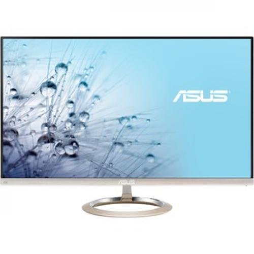 """Asus Designo MX27UCS 27"""" 4K UHD LED LCD Monitor   16:9   Icicle Gold, Black Front/500"""