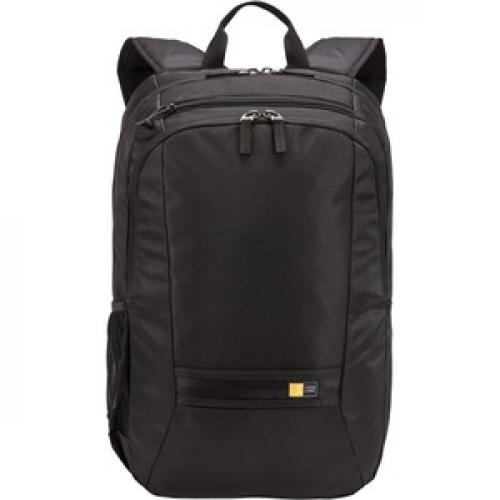 "Case Logic Carrying Case (Backpack) For 10.5"" To 15.6"" Notebook   Black Front/500"