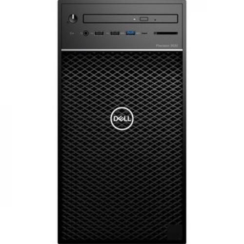 Dell Precision 3000 3630 Workstation   Core I7 I7 9700K   16 GB RAM   256 GB SSD   Mini Tower Front/500