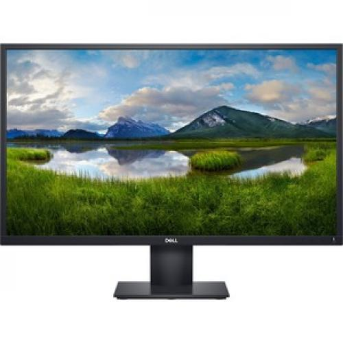 "Dell E2720HS 27"" LCD Anti Glare Monitor   1920 X 1080 Full HD Display   60 Hz Refresh Rate   VGA & HDMI Input Connectors   LED Backlight Technology   In Plane Switching Technology Front/500"