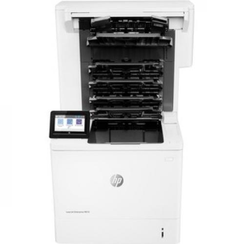 HP LaserJet Enterprise M610dn Laser Printer   Monochrome Front/500
